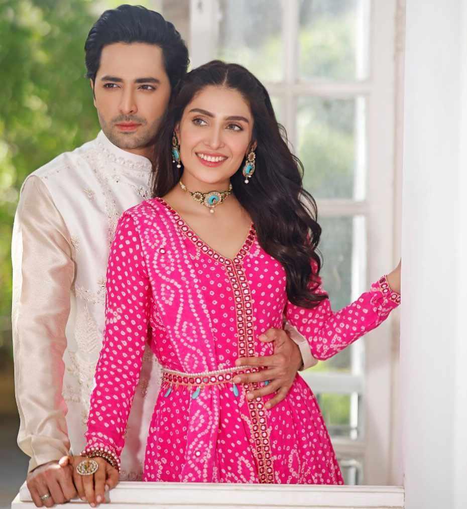 ayeza khan & dainsh taimoor first day of eid