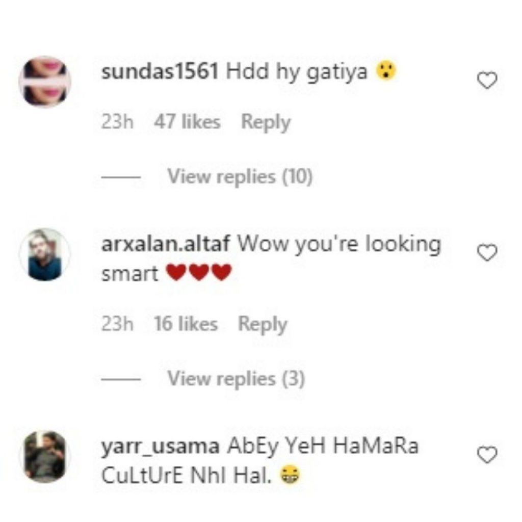 people reaction on Anoushay Abbasi bold look (2)