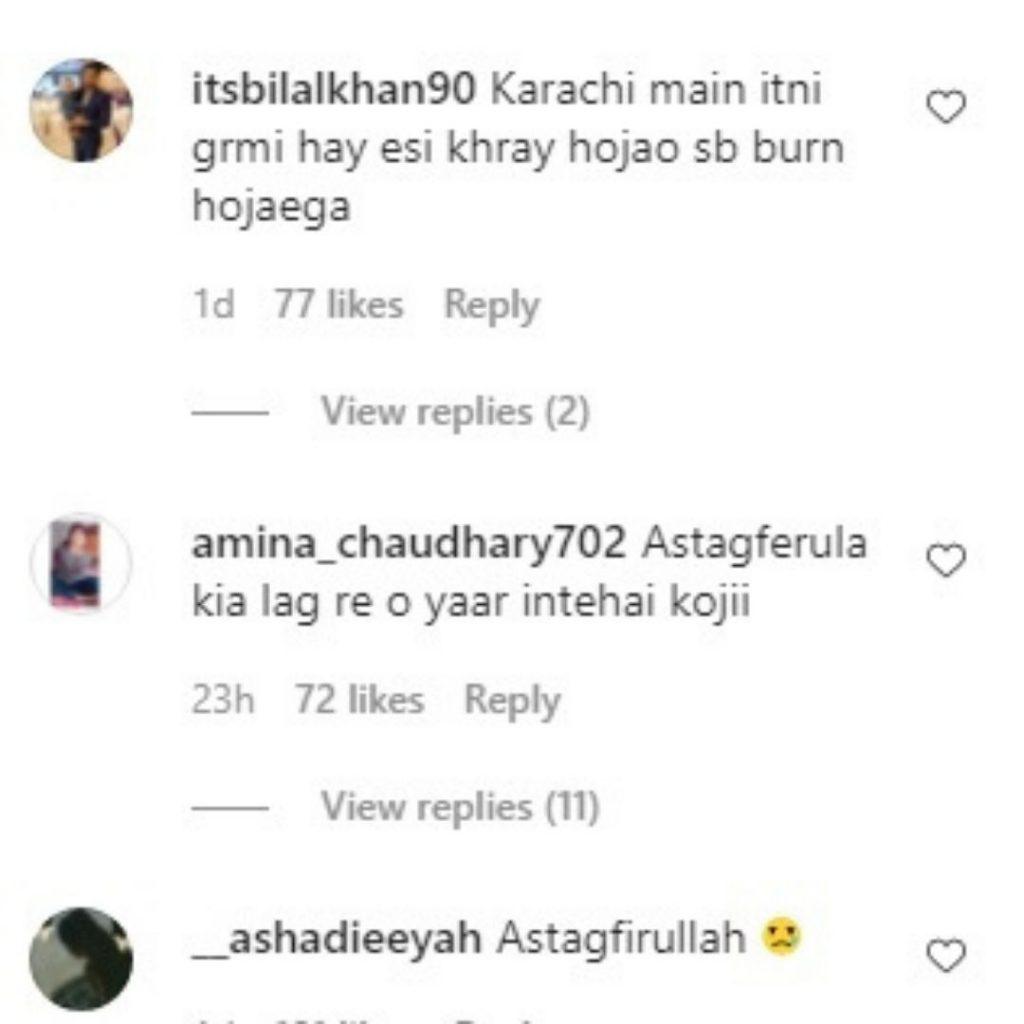 people reaction on Anoushay Abbasi bold look (3)