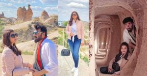 Beautiful Pictures Of Nida Yasir with Husband From Turkey
