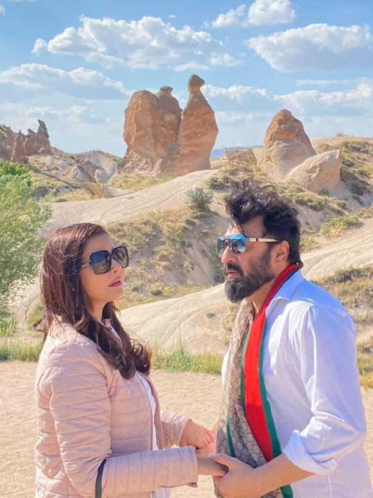Beautiful Pictures Of Nida Yasir with Husband From Turkey (8)