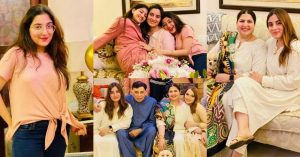 Beautiful Pictures of Shagufta Ejaz With Daughters