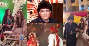 Khalil Ur Rehman Qamar Daughter Nashaba Khalil Tied The Knot to Shiraz Amjad