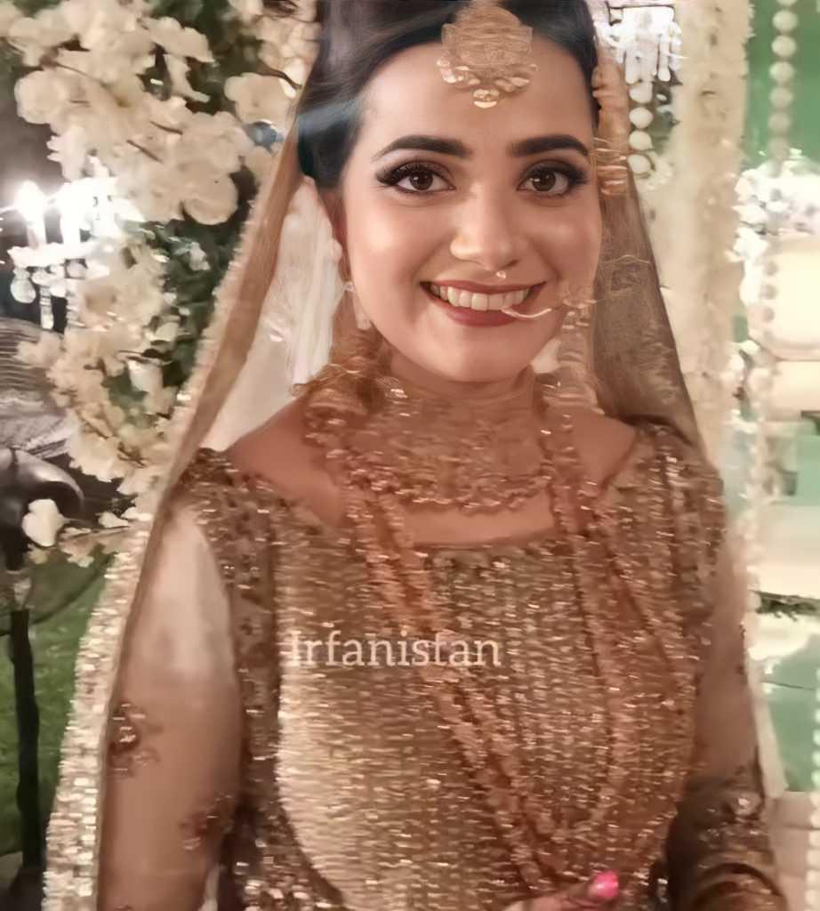 kompal iqbal bridal look