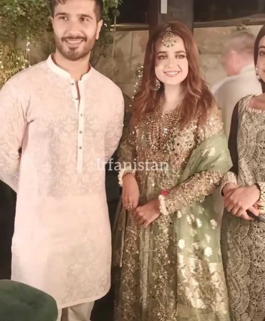 feroze khan at kompal iqbal wedding ceremony
