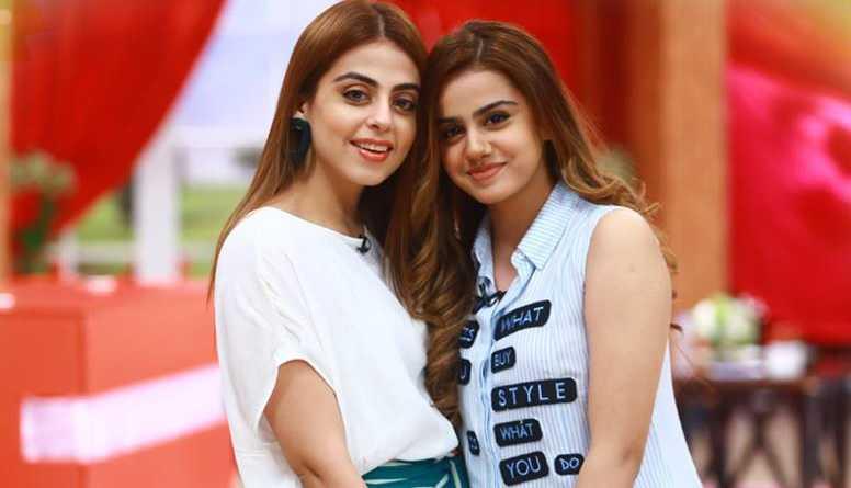 yashma gill with her sister arooba gill