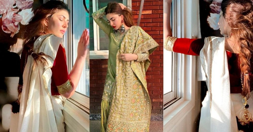 Naimal Khawar Khan Looks Very Beautiful In Her Recent Pictures