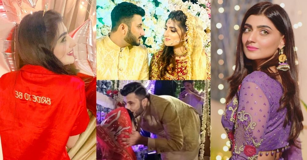 Abeer Qureshi Wedding Pictures With Husband Meer Basit