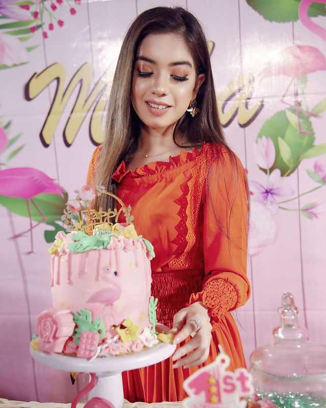 Arisha Razi Khan also joined the birthday party of her niece mirha