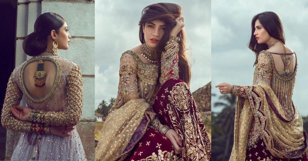 Neelam Muneer New Bridal Photoshoot Wearing Lehenga