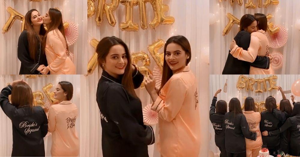 Aiman Khan Hosted A Bridal Shower For Minal Khan