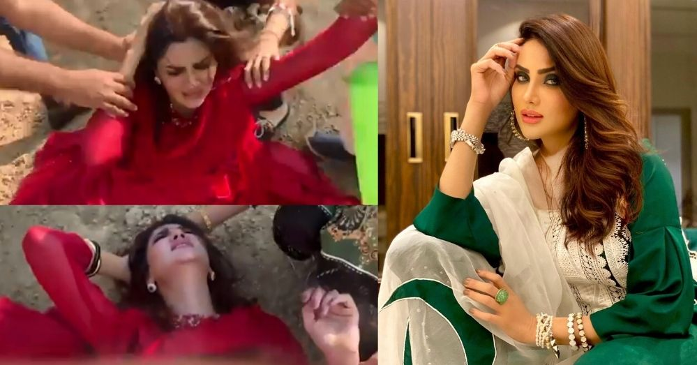 Fiza Ali Faces Injury During The Shoot Video Of A Song