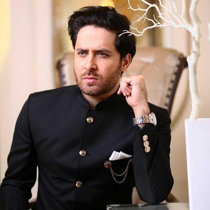 Haroon Shahid as Junaid in drama Amanat