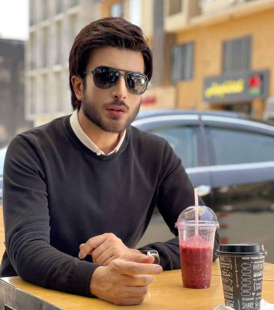 Imran Abbas is a beautiful part of the cast of Amanat drama in the role of Zarar
