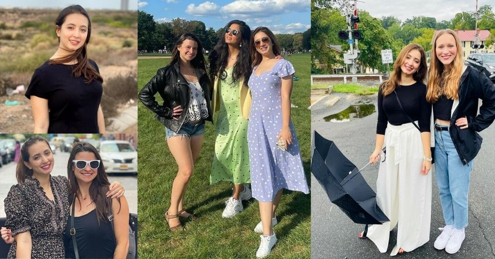 Komal Aziz Khan Vacationing With Her Friends In USA