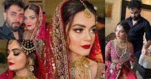 Minal Khan Wedding Dress - Designer & Makeup Artist