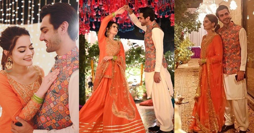 Minal Khan Wedding Has Started Now Rasm E Dholki Video