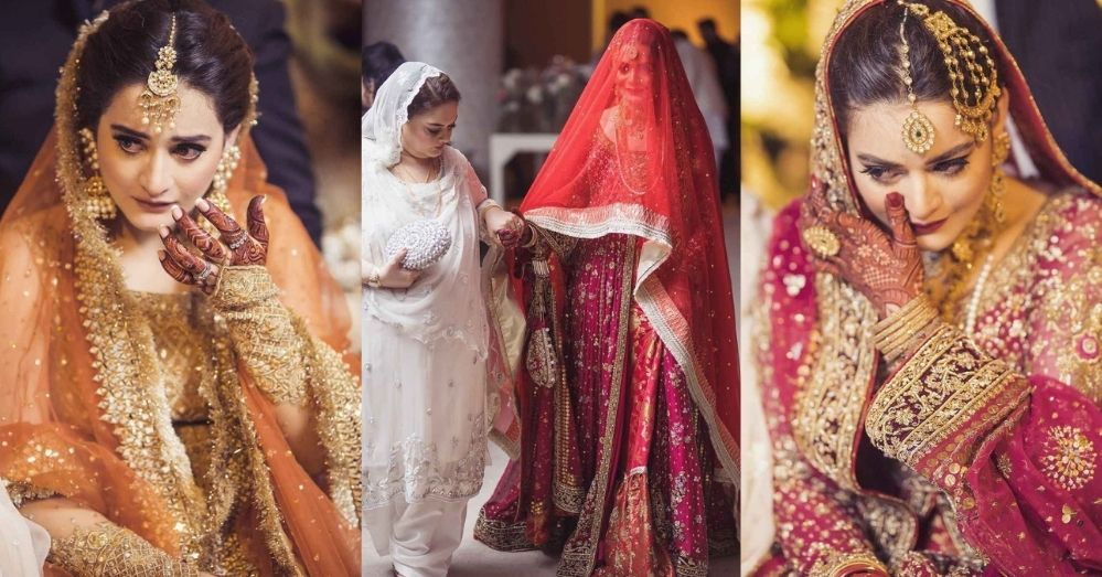 Minal Khan Wedding Pics With Her Husband - Family & Friends