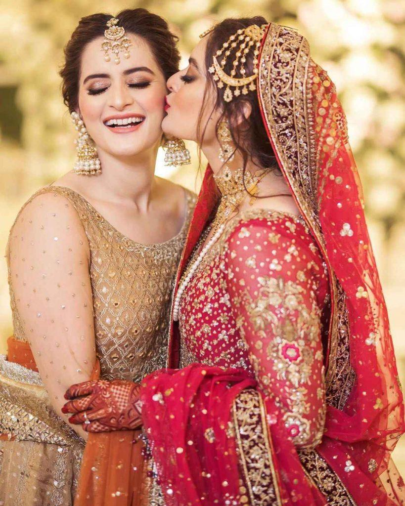 Minal Khan with Aiman Khan (2)