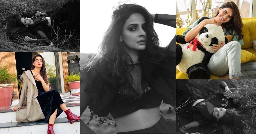 Saba Qamar Bold Pics Take The Internet By Strom Latest Photoshoot