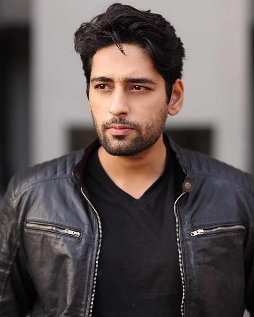 Salman Saeed as Rahil in drama amanat