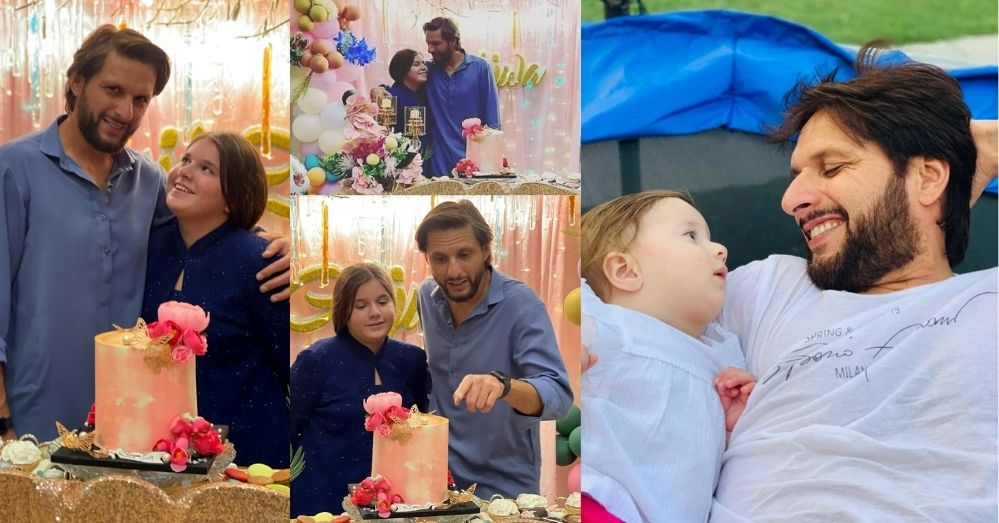 Shahid Afridi Daughter Ajwa Afridi Turns 11