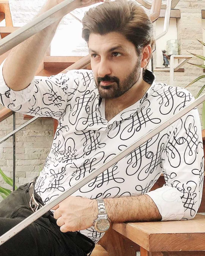 Syed Jibran as Afaq in mohabbat dagh ki soorat