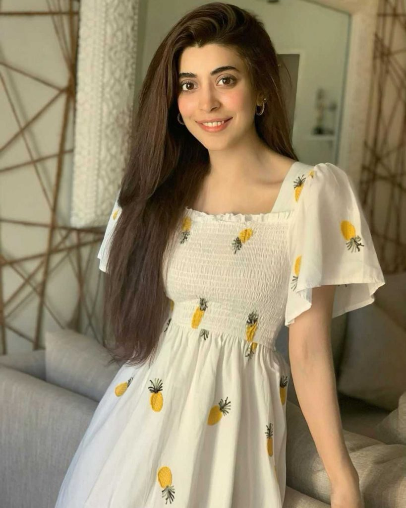 Urwa Hocane is also a beautiful part of the cast of Amanat drama in the role of Zara