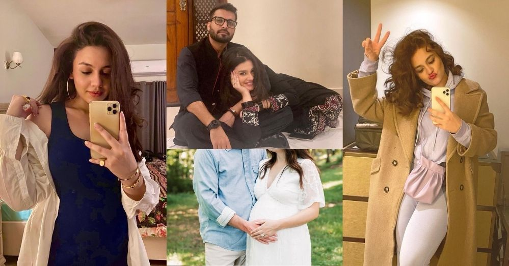 Zara Noor Abbas Pregnant Pics Goes Viral On Social Media