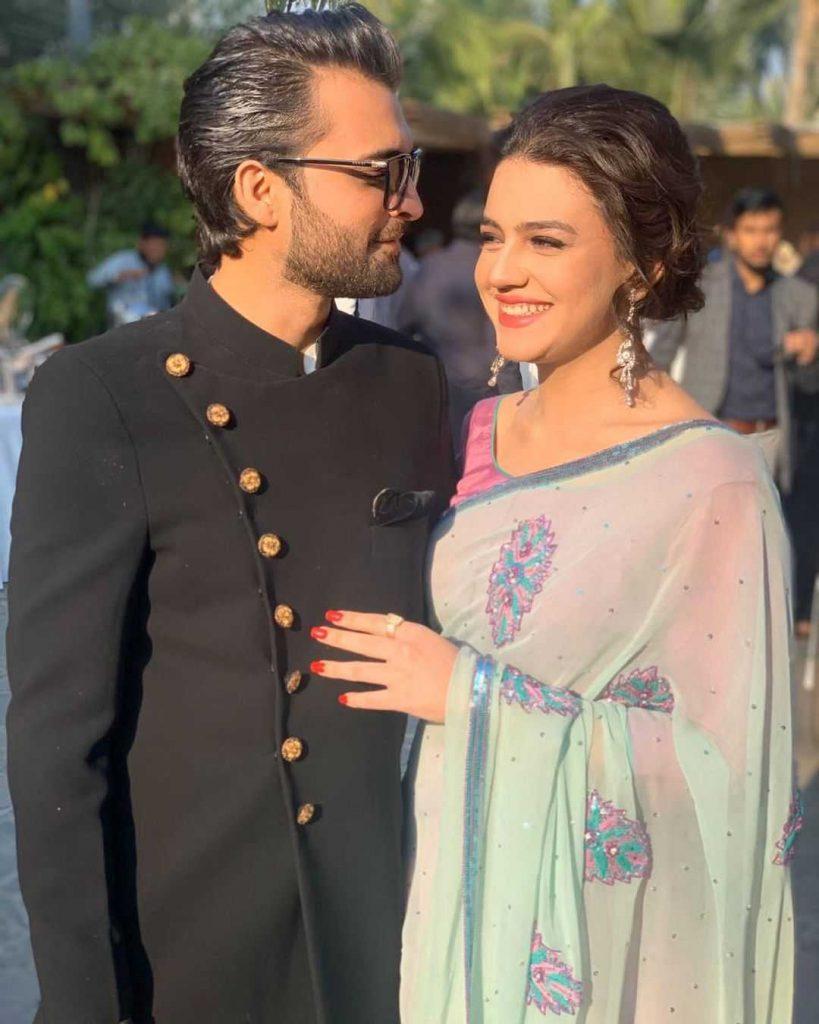 asad siddiqui with his wife zara noor abbas