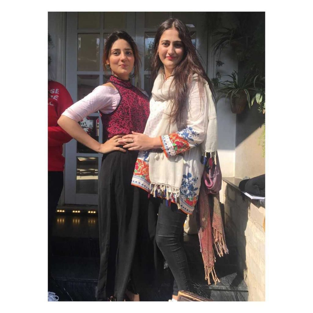 ellie ziad with her sister
