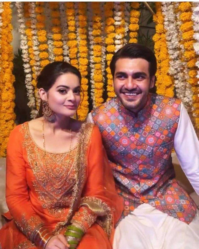 minal khan and ahsan mohsin ikram