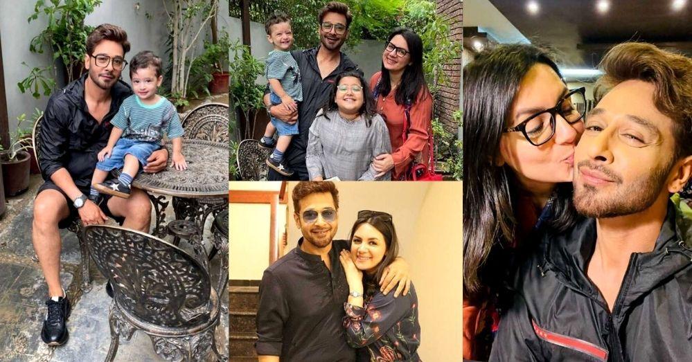 Faysal Qureshi and Sana Faysal Enjoy A Rainy Day With Kids