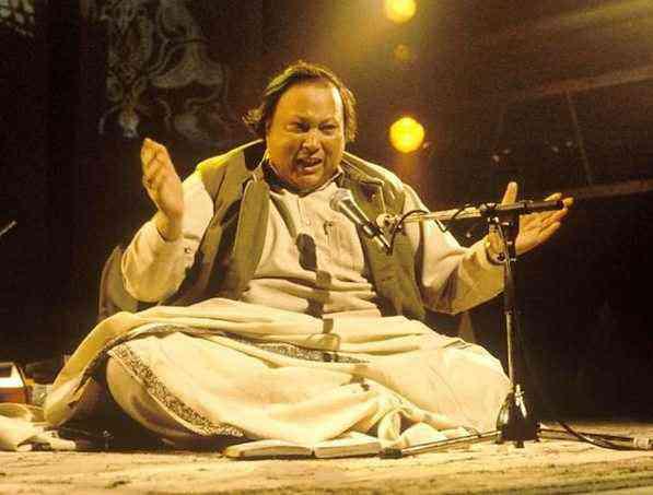 His uncle Nusrat Fateh Ali Khan