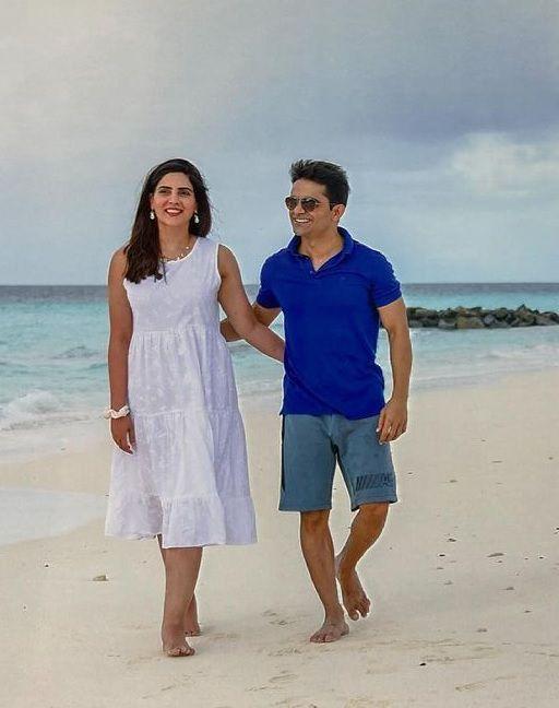 Rushna Khan Honeymoon pictures with husband