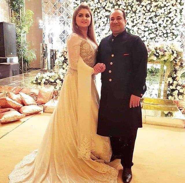 NIda Rahat and Rahat Fateh Ali Khan