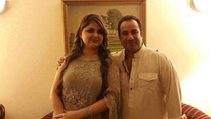 Rahat Fateh Ali Khan and Nida Rahat
