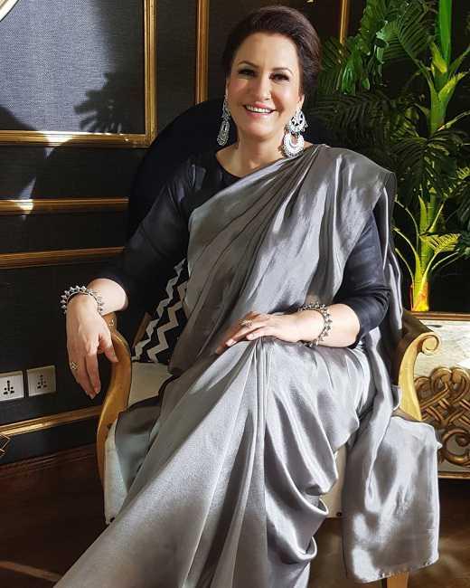 Pakistani Actress Saba Faisal