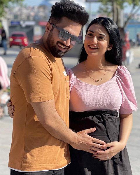 Sarah Khan blessed With A Baby Girl
